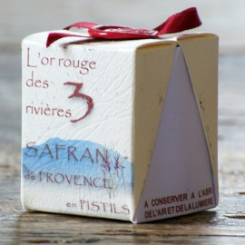 Safran de Provence en stigmates 1 g